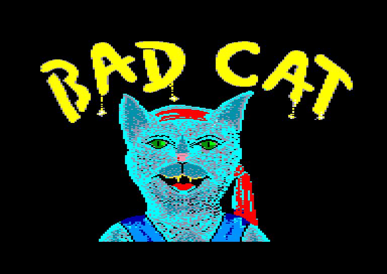 screenshot du jeu Amstrad CPC Bad cat