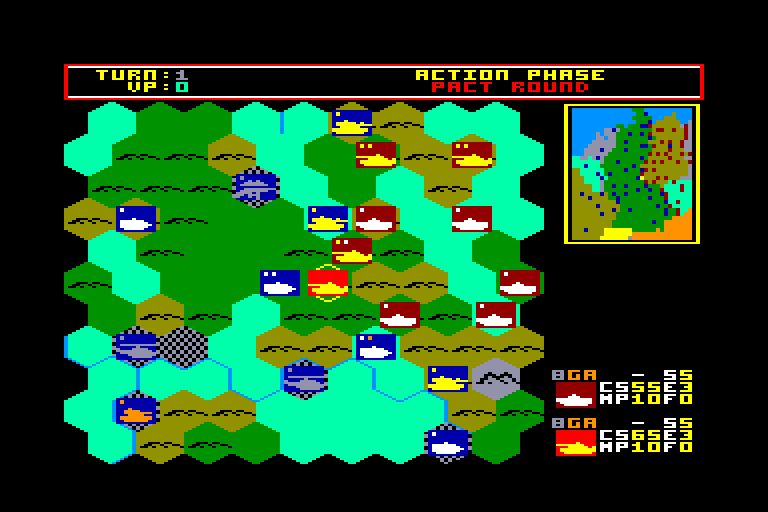 screenshot of Battlefield Germany provided by GameBase CPC