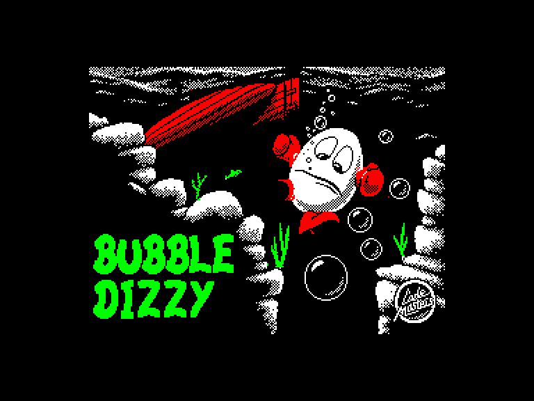 screenshot du jeu Amstrad CPC Bubble Dizzy