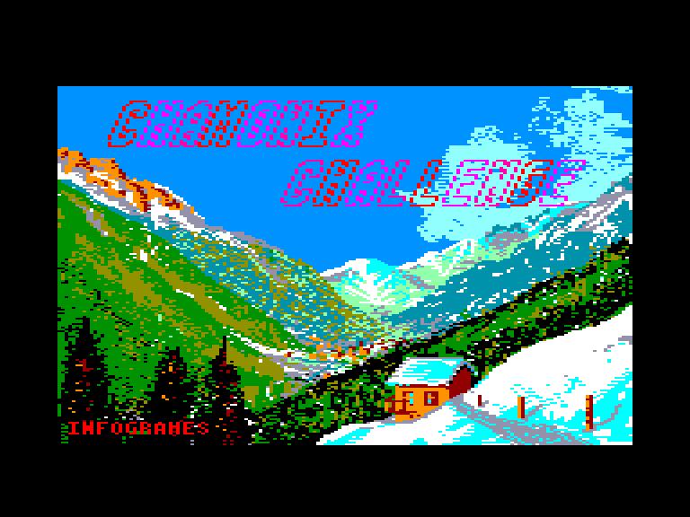 screenshot of the Amstrad CPC game Bivouac