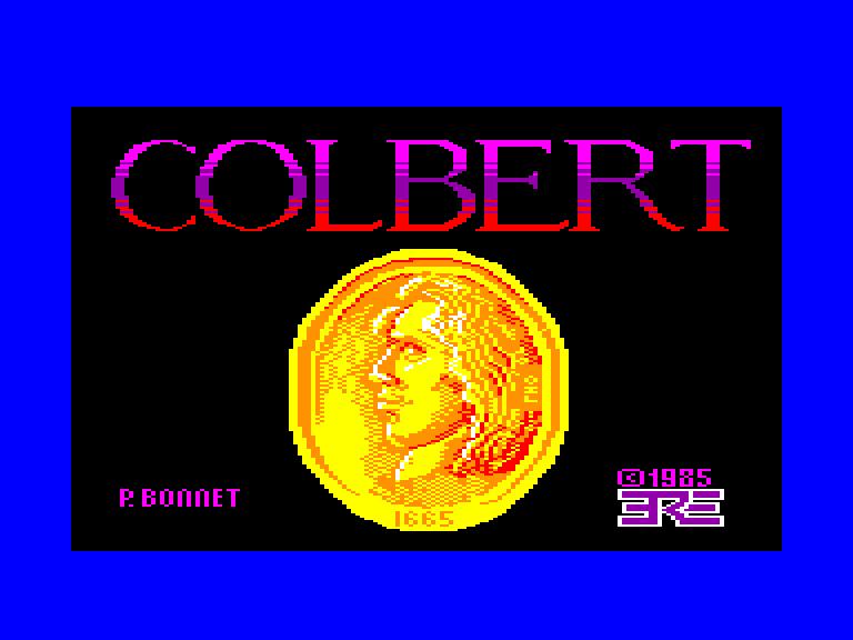 screenshot du jeu Amstrad CPC Colbert 1.0