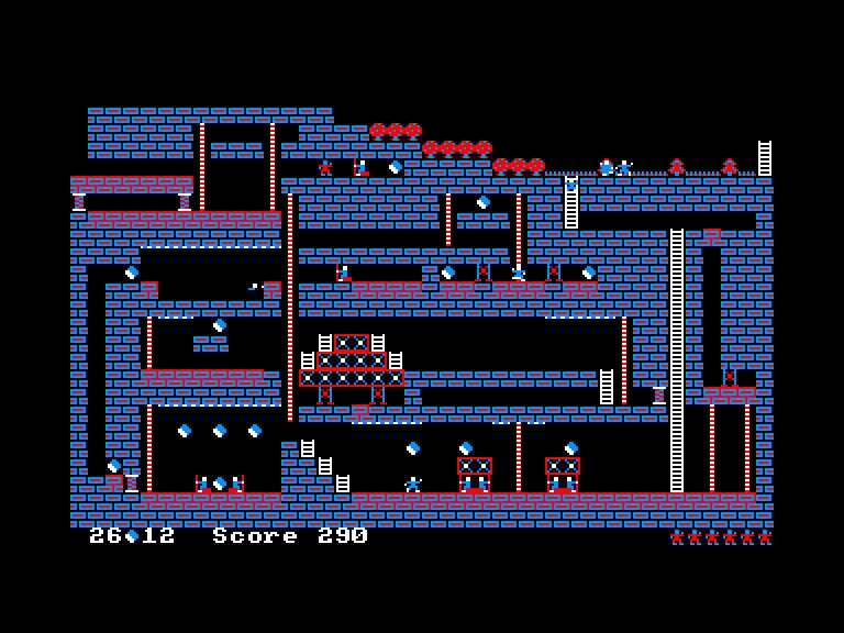 screenshot of the Amstrad CPC game Drigus und Drolan