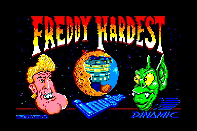 screenshot du jeu Amstrad CPC Freddy hardest