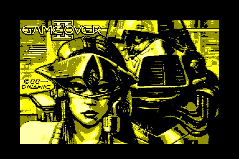 screenshot du jeu Amstrad CPC Game Over II