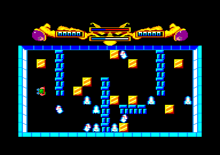 screenshot of the Amstrad CPC game Ghostbuster III