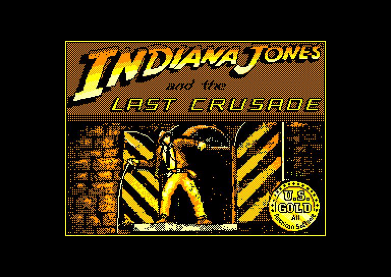 screenshot du jeu Amstrad CPC Indiana Jones And The Last Crusade