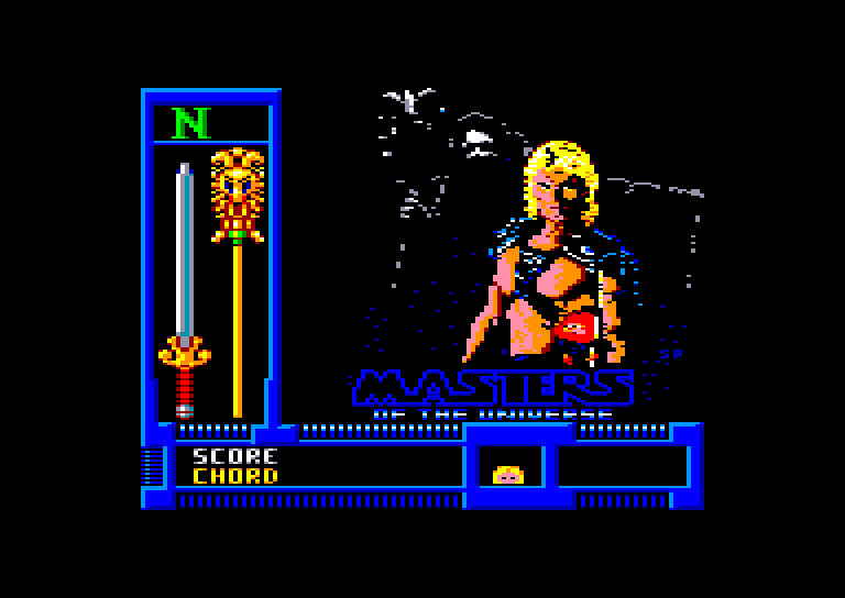 screenshot du jeu Amstrad CPC Masters of the universe