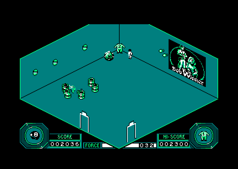 screenshot of Mission provided by GameBase CPC