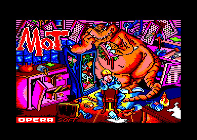 screenshot of the Amstrad CPC game Mot