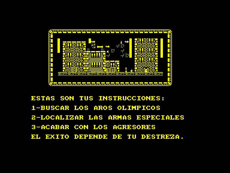 screenshot du jeu Amstrad CPC Smaily
