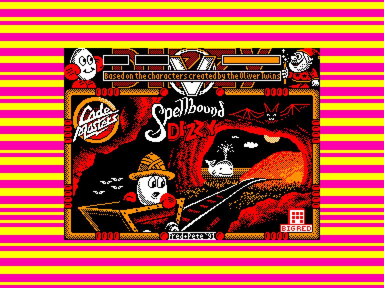 screenshot du jeu Amstrad CPC Dizzy 9: Spellbound Dizzy