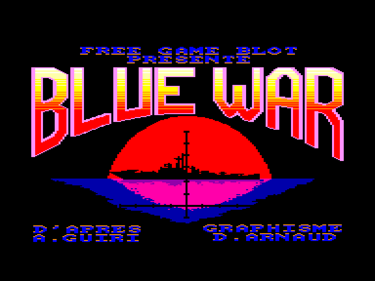 screenshot of the Amstrad CPC game Wow !