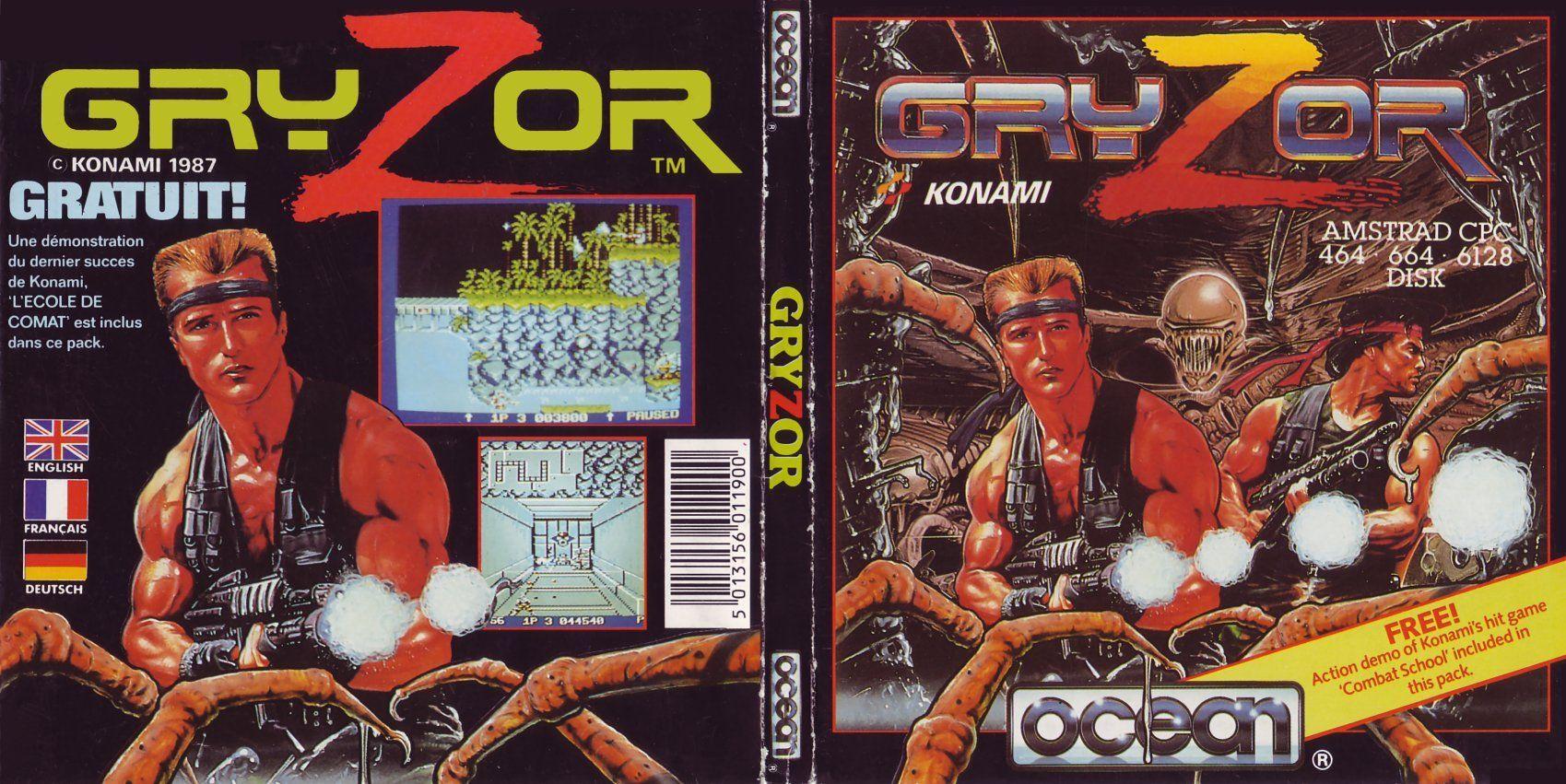 Quel a été votre première console ou ordi rétro et vos 1er jeux ? - Page 3 Gryzor_jaquette