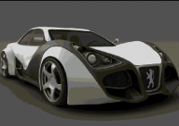 3D Peugeot, 2nd screenshot of food for my plus volume 1 by Hermol