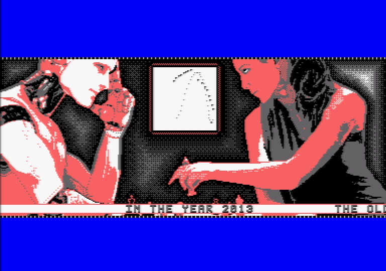 Mind in Motion, an Amstrad CPC demo by Software Failure