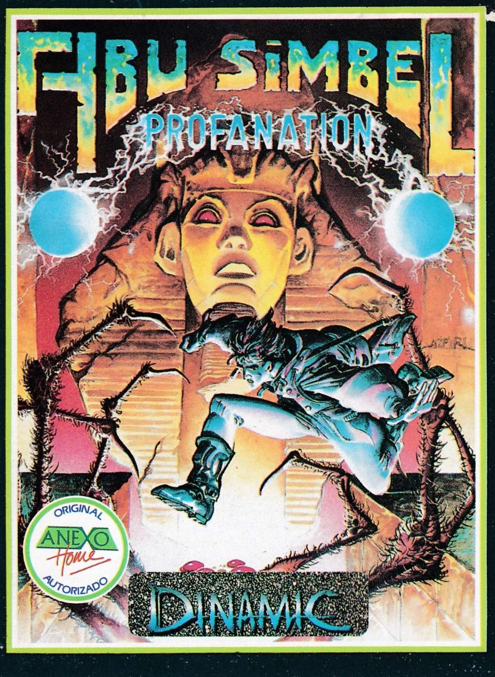 cover of the Amstrad CPC game Abu Simbel Profanation  by GameBase CPC