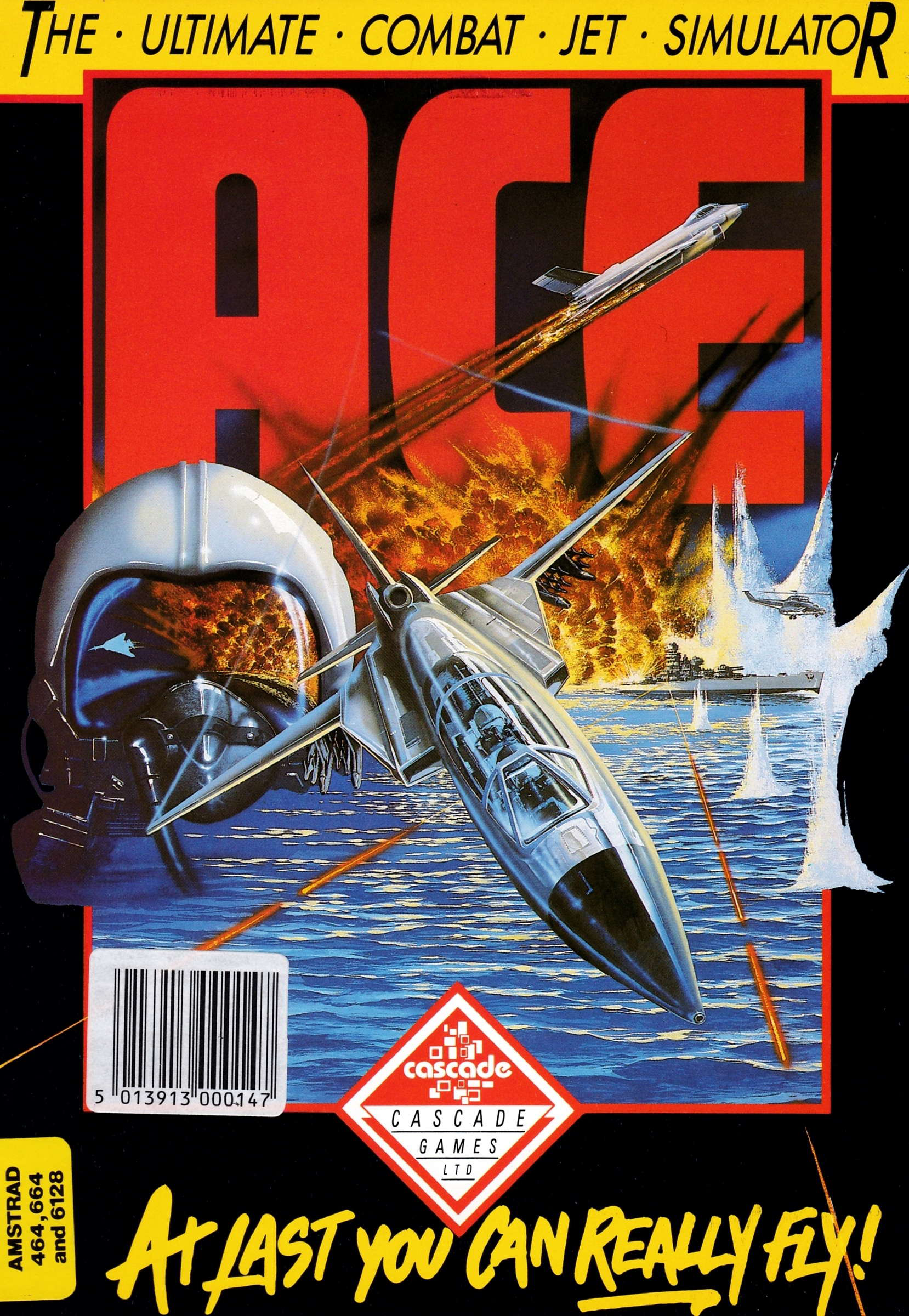 cover of the Amstrad CPC game Ace  by GameBase CPC