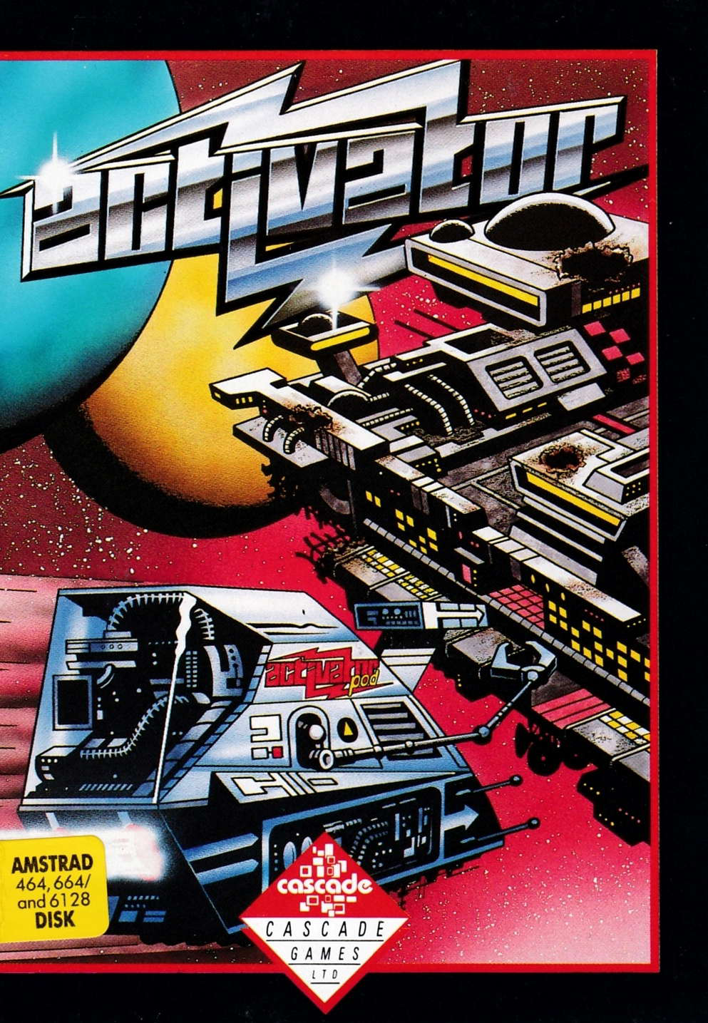 screenshot of the Amstrad CPC game Activator by GameBase CPC