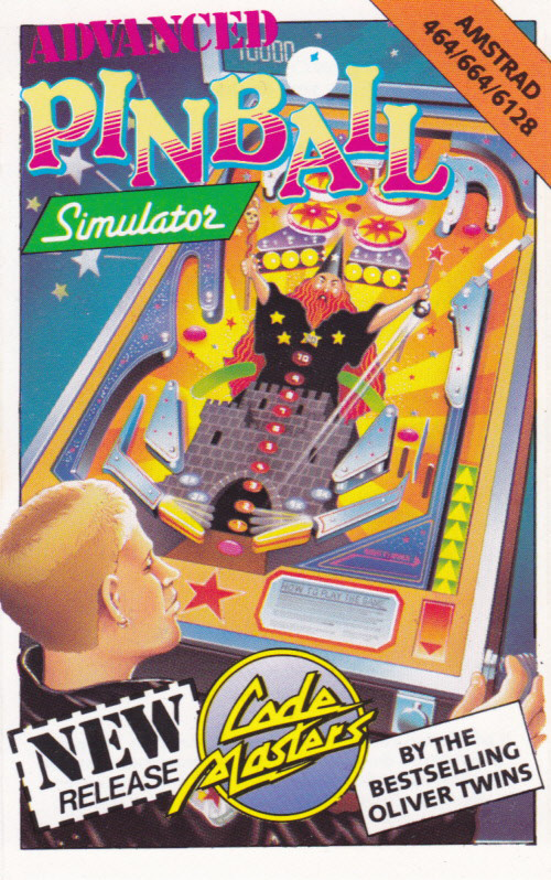 cover of the Amstrad CPC game Advanced Pinball Simulator  by GameBase CPC