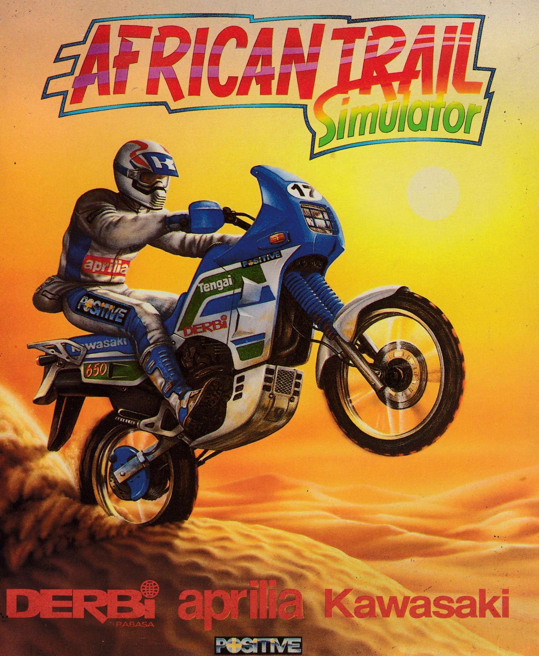 cover of the Amstrad CPC game African Trail Simulator  by GameBase CPC