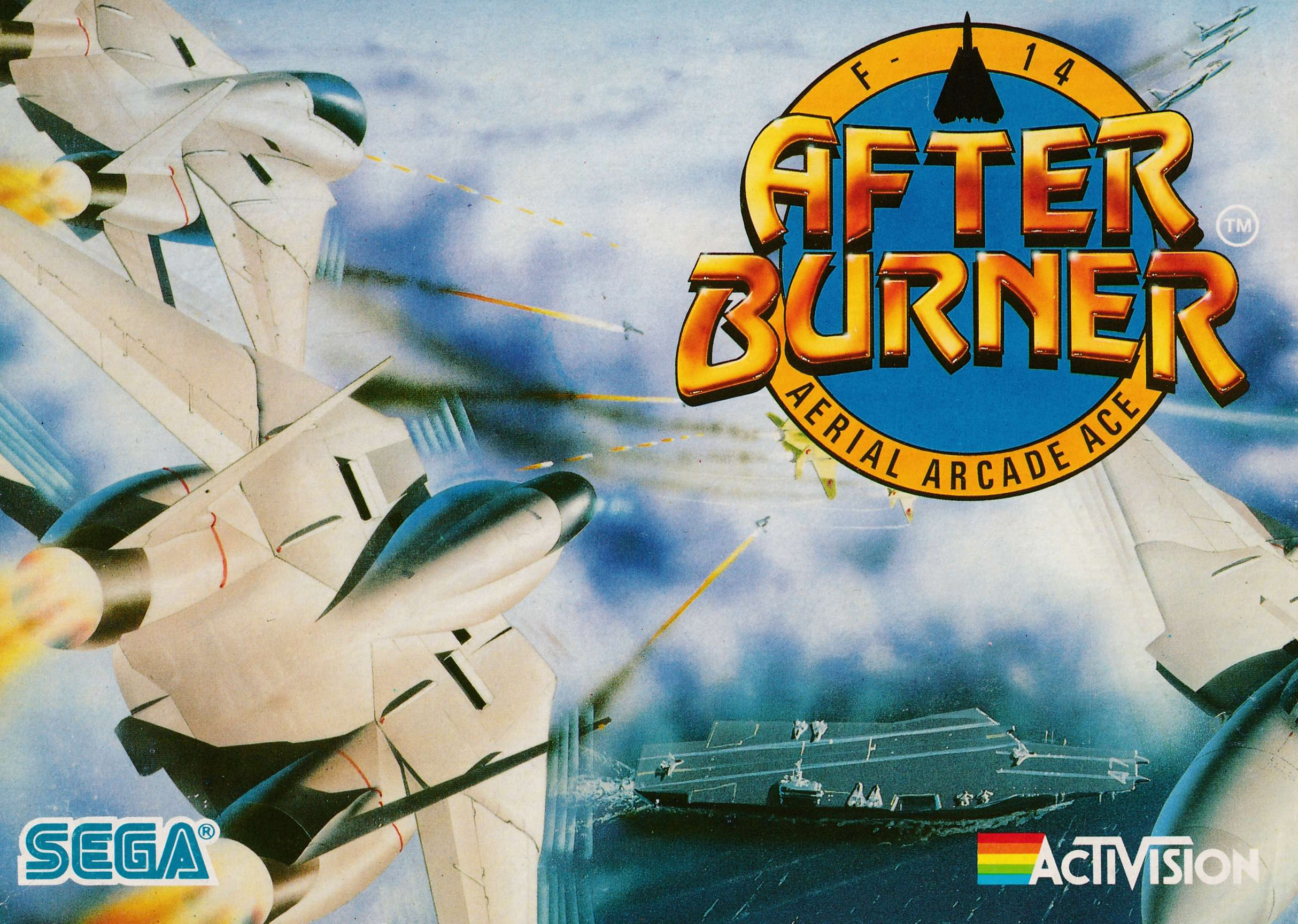 cover of the Amstrad CPC game After Burner  by GameBase CPC