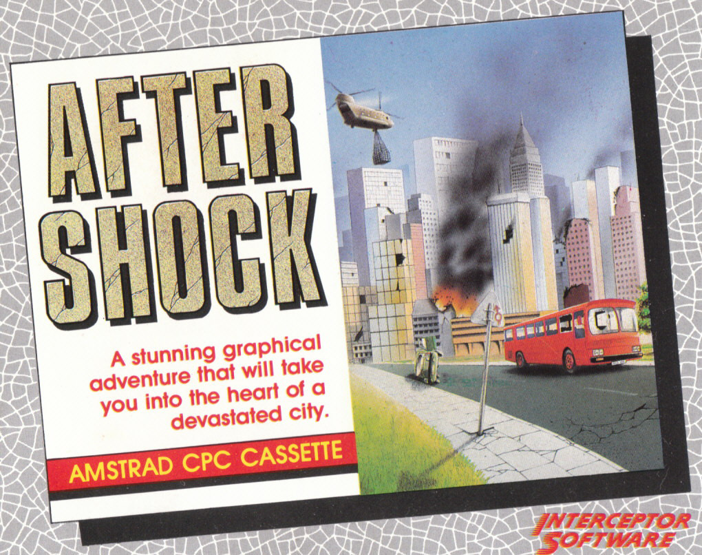 screenshot of the Amstrad CPC game After Shock by GameBase CPC
