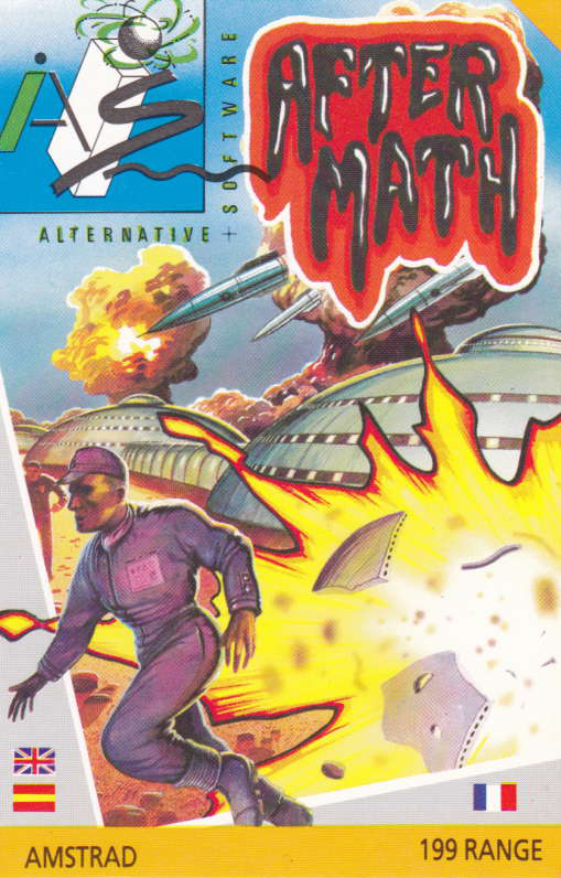 screenshot of the Amstrad CPC game Aftermath by GameBase CPC