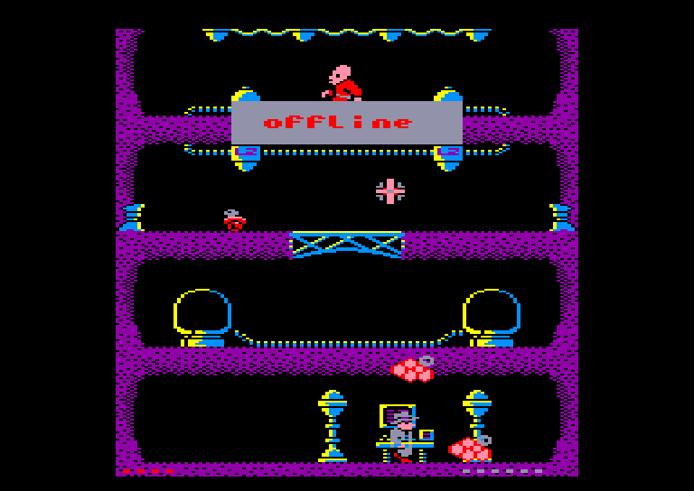 screenshot of the Amstrad CPC game Agent X II by GameBase CPC
