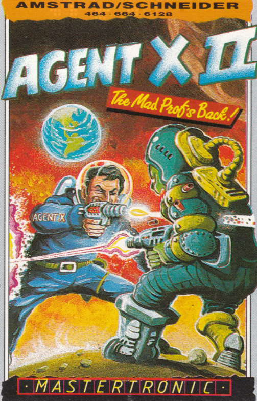 cover of the Amstrad CPC game Agent X II  by GameBase CPC