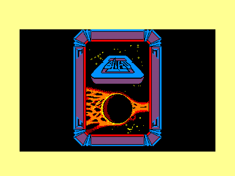 screenshot of the Amstrad CPC game Alien 8 by GameBase CPC