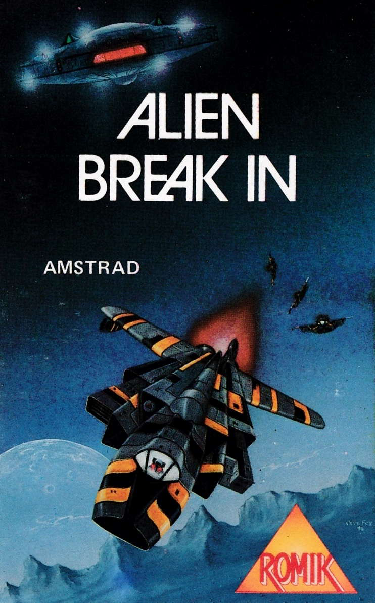 screenshot of the Amstrad CPC game Alien break-in by GameBase CPC