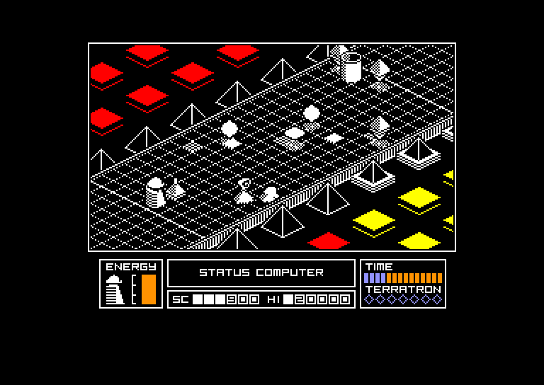 screenshot of the Amstrad CPC game Highway Encounter 2 by GameBase CPC