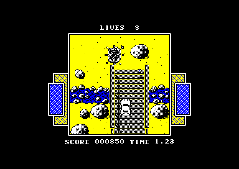 screenshot of the Amstrad CPC game American Turbo King by GameBase CPC