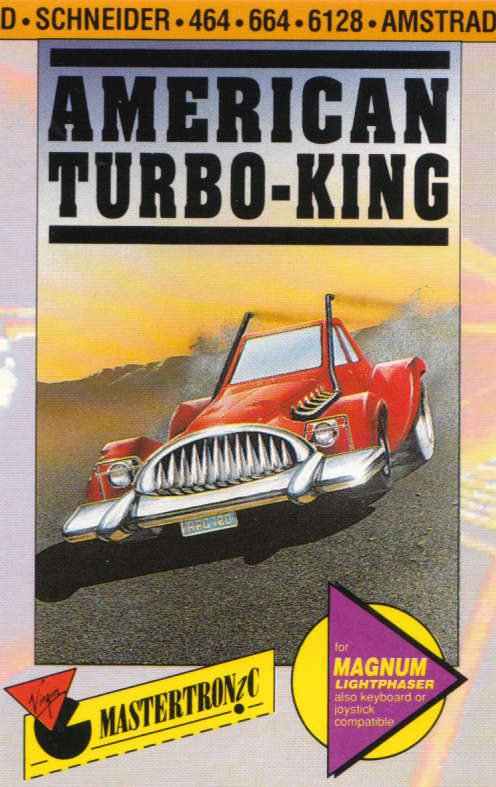 cover of the Amstrad CPC game American Turbo King  by GameBase CPC