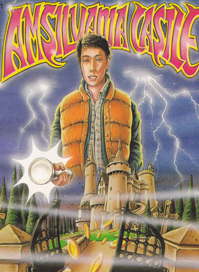 cover of the Amstrad CPC game Amsilvania Castle  by GameBase CPC