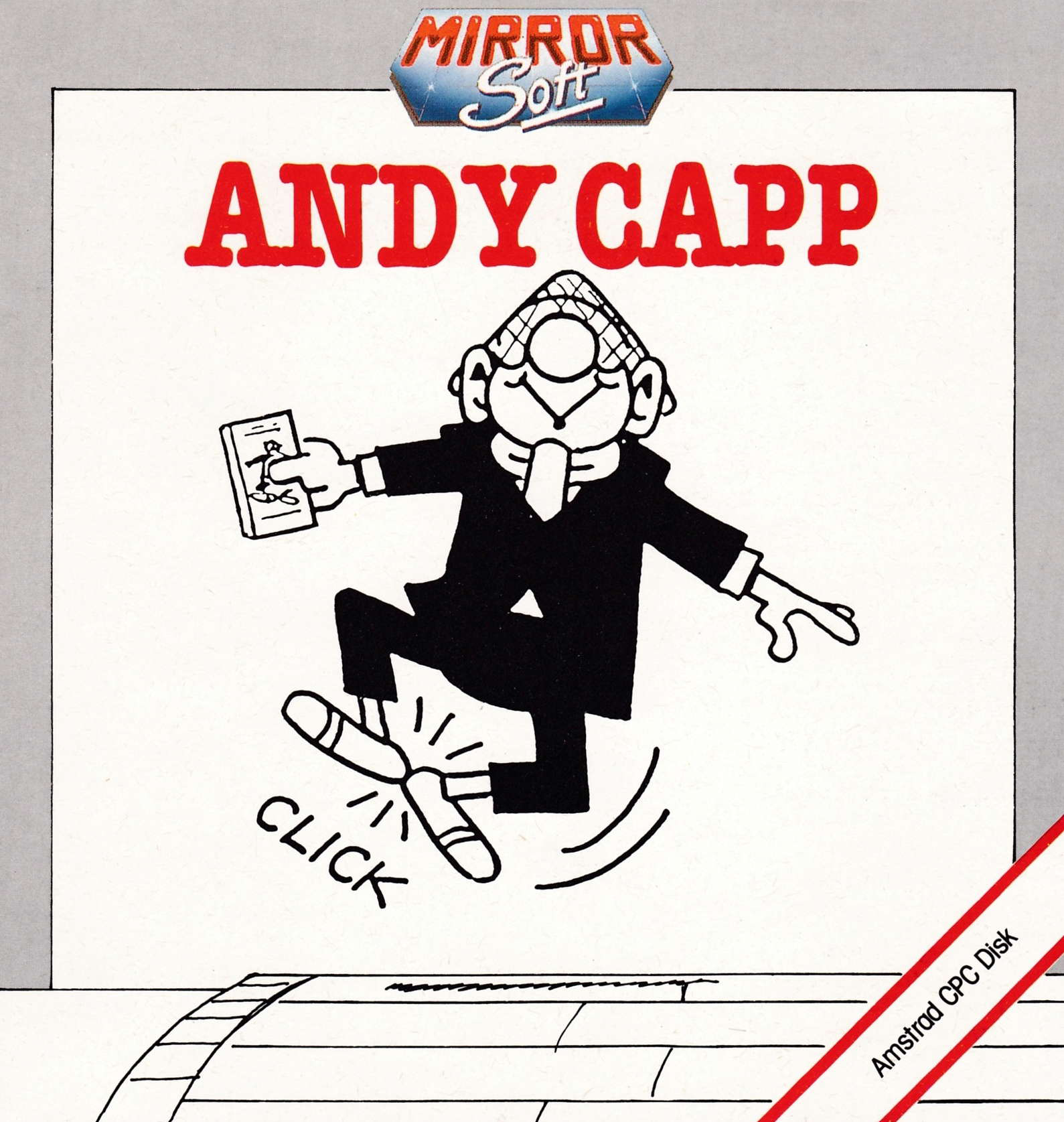 screenshot of the Amstrad CPC game Andy Capp by GameBase CPC