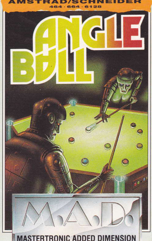 cover of the Amstrad CPC game Angleball  by GameBase CPC