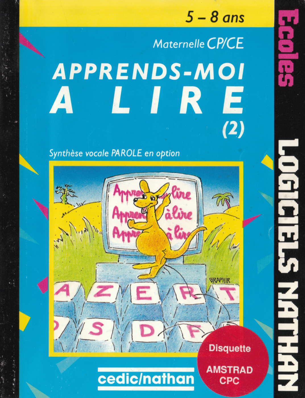 screenshot of the Amstrad CPC game Apprends-Moi a Lire 2 by GameBase CPC