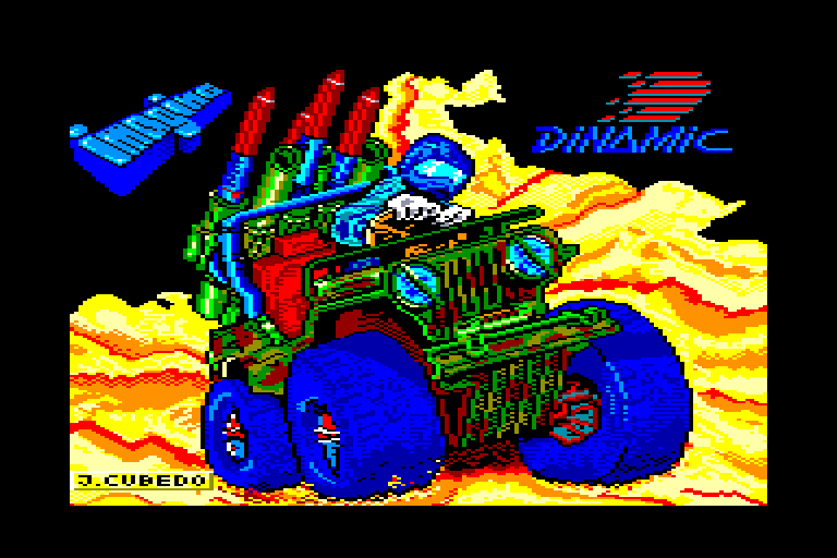 screenshot of the Amstrad CPC game Army moves by GameBase CPC