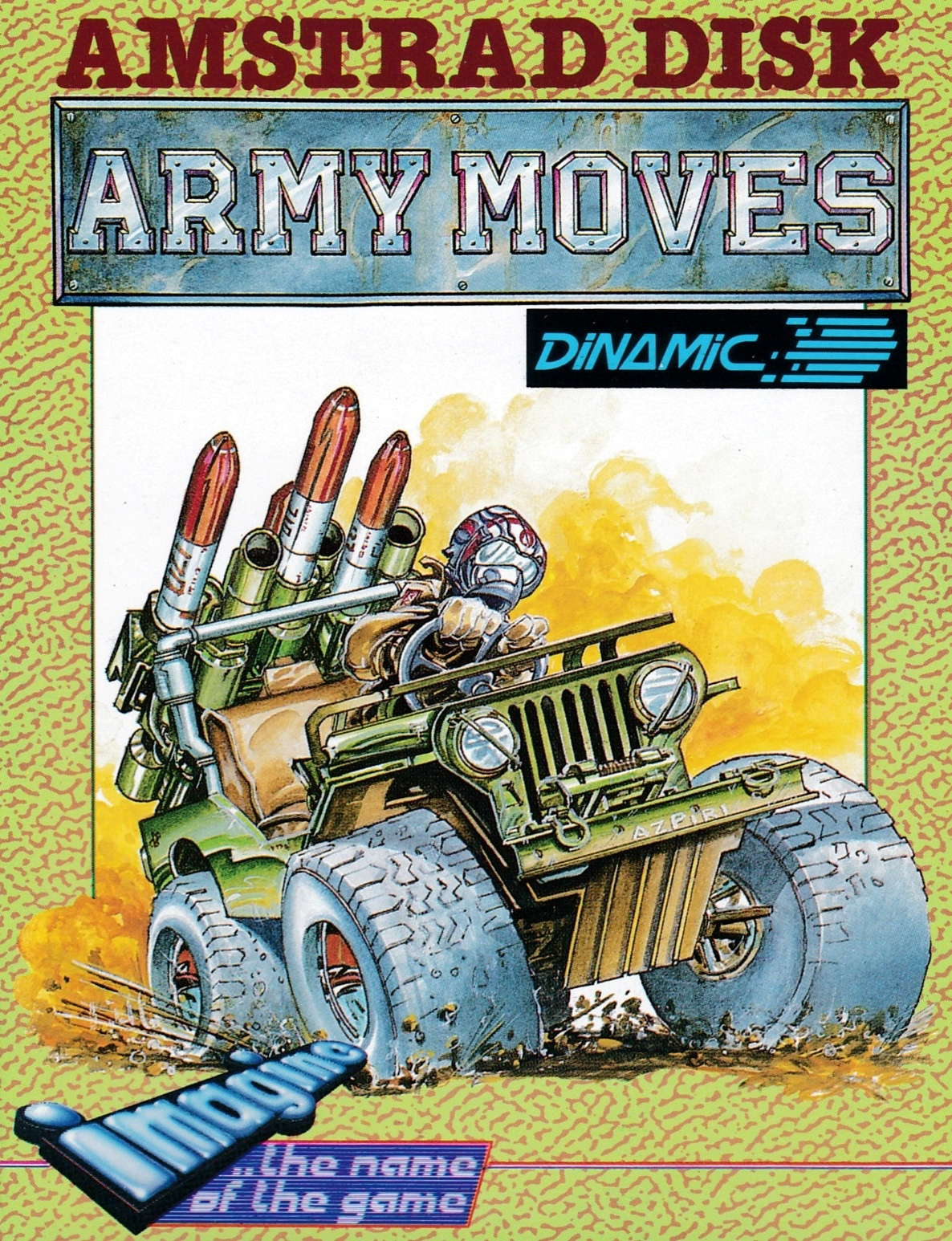 cover of the Amstrad CPC game Army Moves  by GameBase CPC
