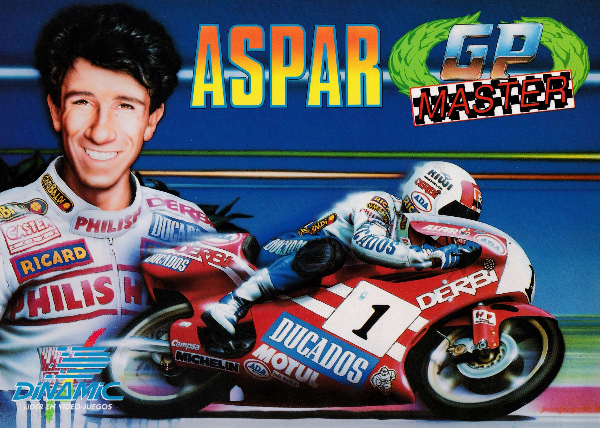 cover of the Amstrad CPC game Aspar GP Master  by GameBase CPC