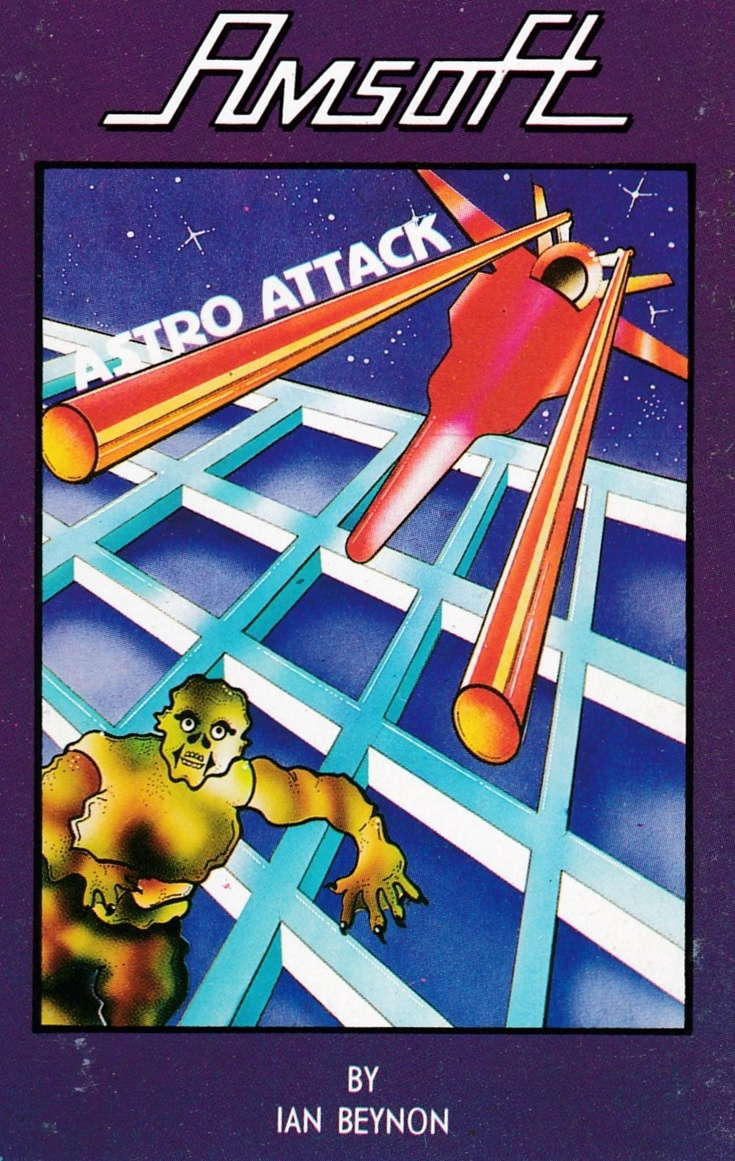 cover of the Amstrad CPC game Astro Attack  by GameBase CPC