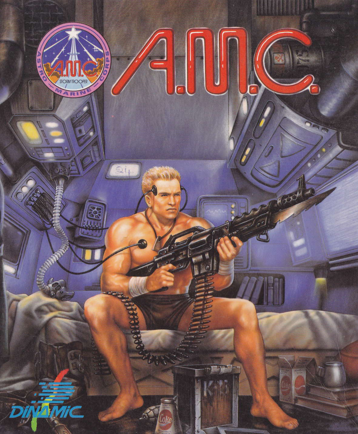 cover of the Amstrad CPC game Astro Marine Corps  by GameBase CPC