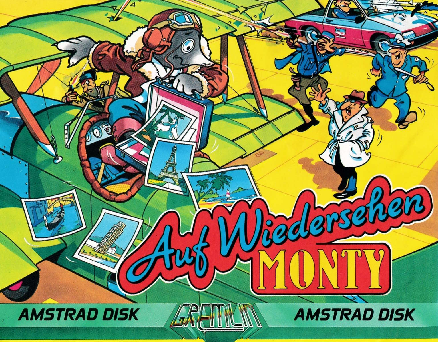 cover of the Amstrad CPC game Auf Wiedersehen Monty  by GameBase CPC