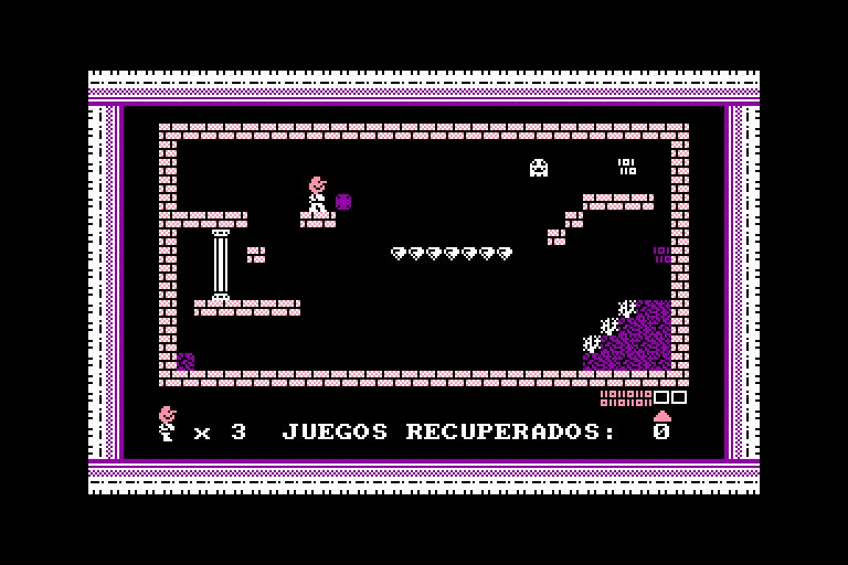 screenshot of the Amstrad CPC game BCM el Buscador de Codigo by GameBase CPC