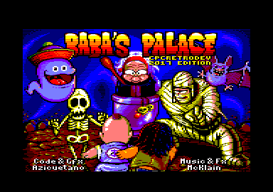 cover of the Amstrad CPC game Baba's Palace  by GameBase CPC