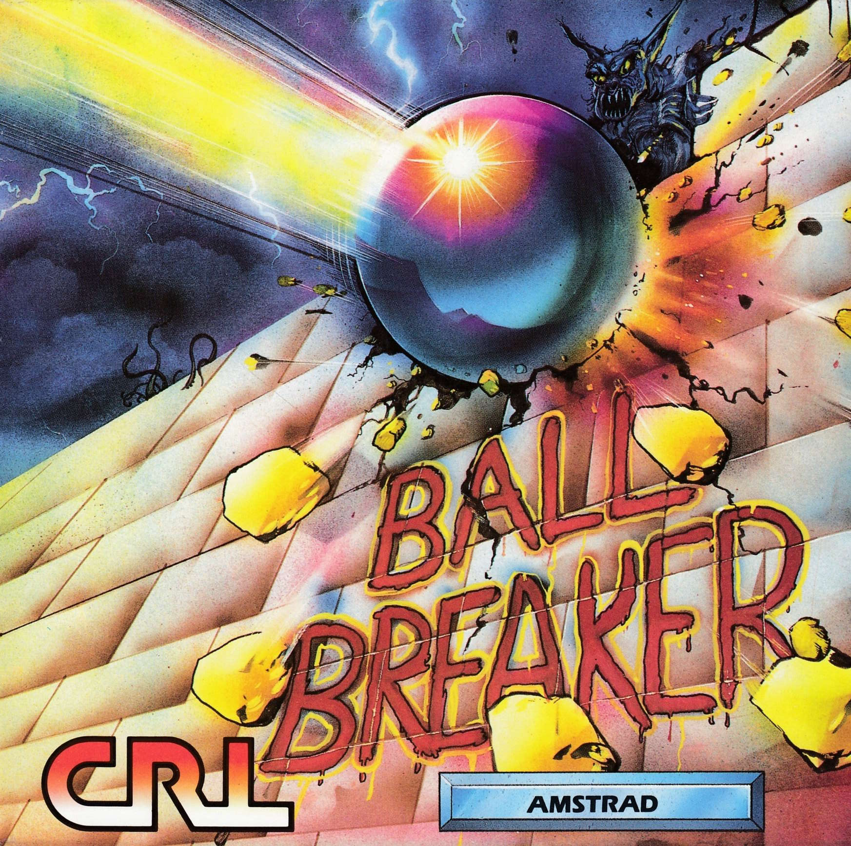 cover of the Amstrad CPC game Ball Breaker  by GameBase CPC