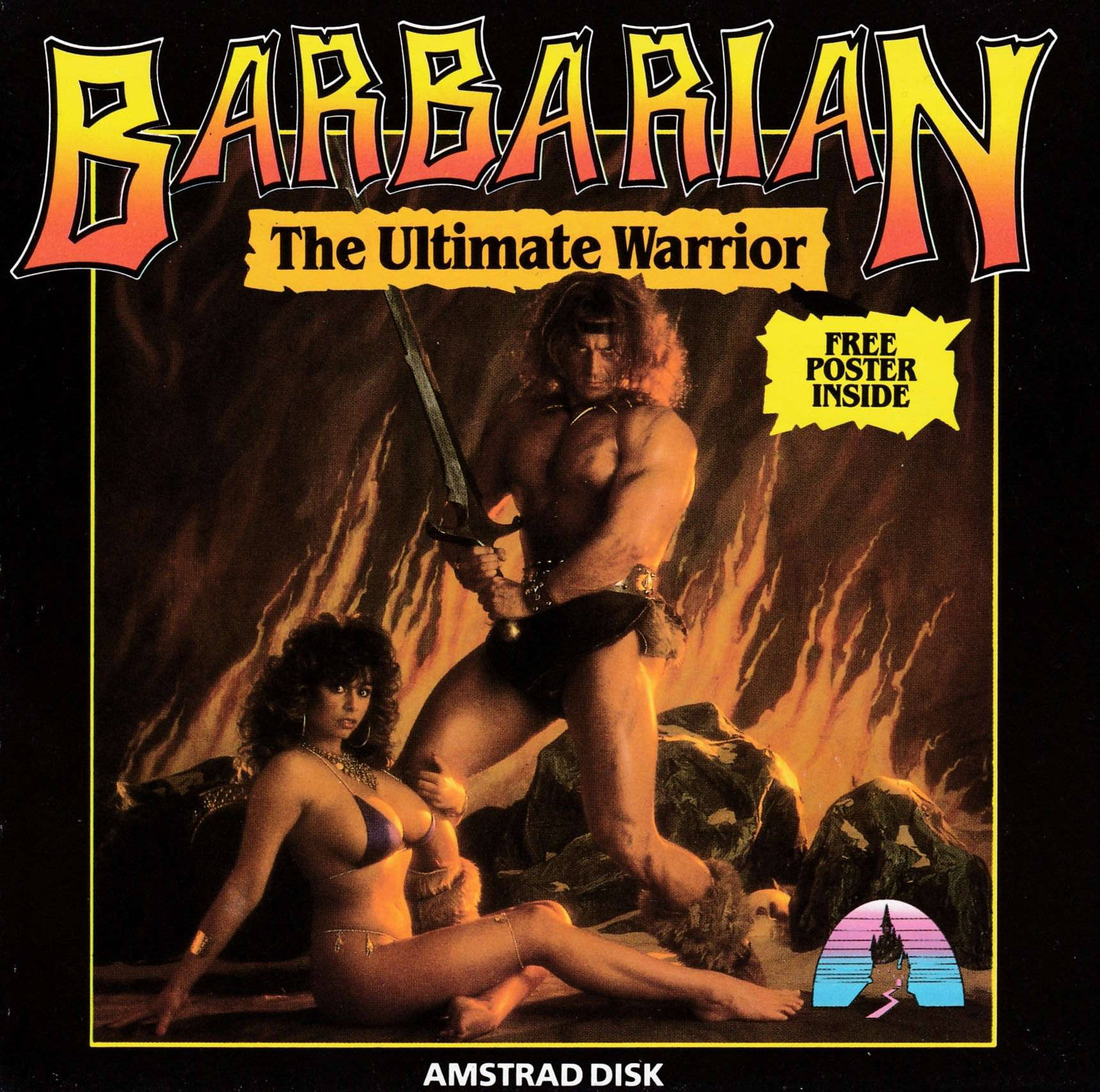 cover of the Amstrad CPC game Barbarian  by GameBase CPC