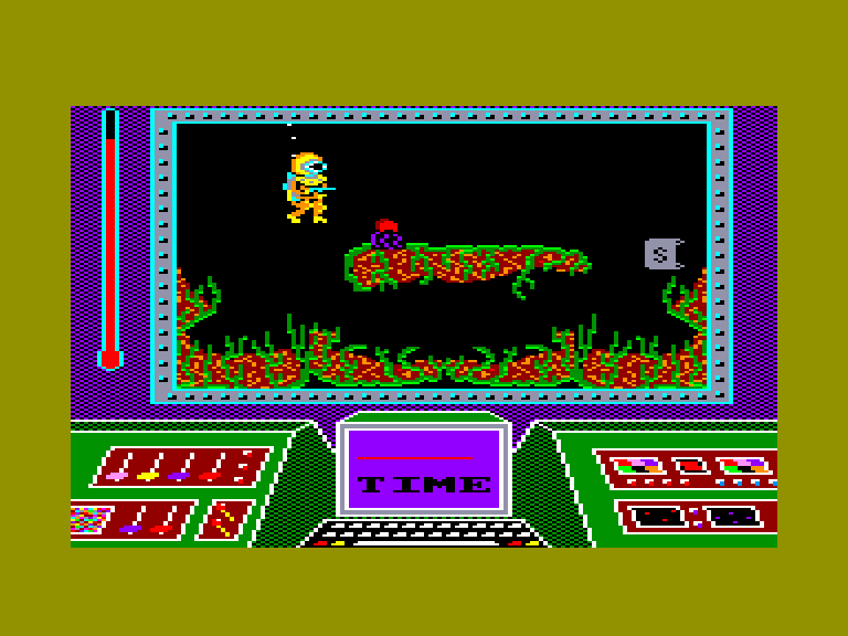 screenshot of the Amstrad CPC game Great barrier reef (the) by GameBase CPC