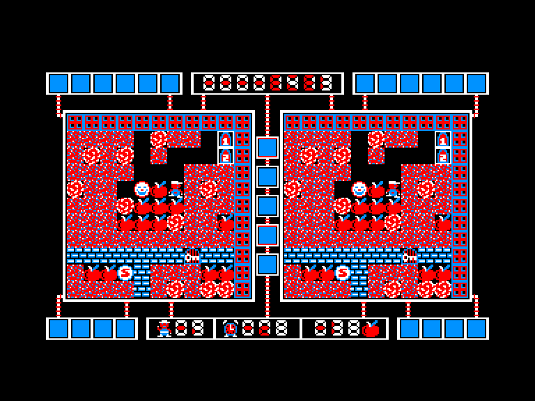 screenshot of the Amstrad CPC game Barthels Dash by GameBase CPC